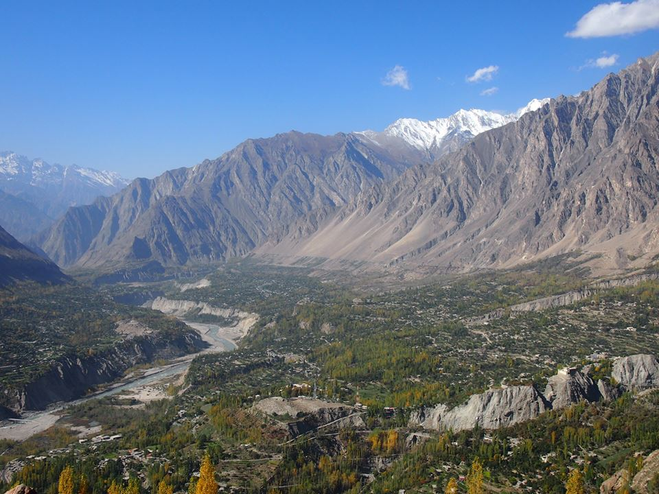 A View from Eagle Nest HUNZA
