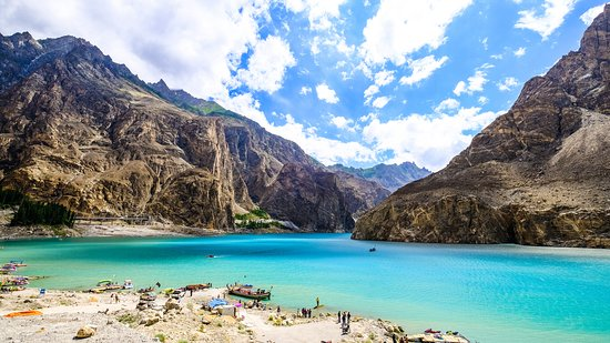 Beautiful View of Attabad Lake