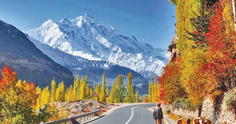 Hunza Valley in Autumn